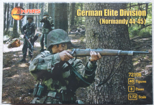 Mars 1/72 MAR72106 German Elite Infantry Western Front 1944-45 (WW2)